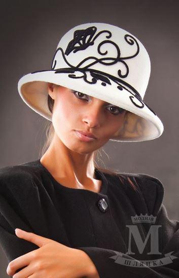 Изображение Шляпа ЧБ 01