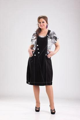 Изображение Платье 110550 черное