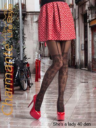 Изображение Колготки Shes a lady 40 marrone