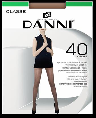 Изображение Женские колготки DANNI Classe maxi 40 черный