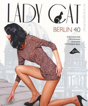 Изображение Колготки  Berlin 40 XL - черный