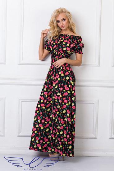 Изображение Платье Мерлин цветы