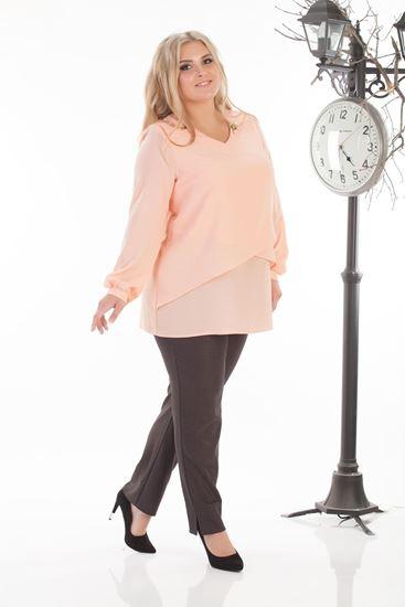 Изображение Блуза Иовита персик