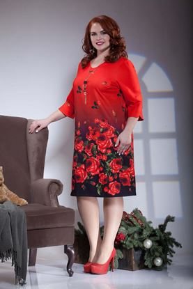 Изображение Платье Параскея красный