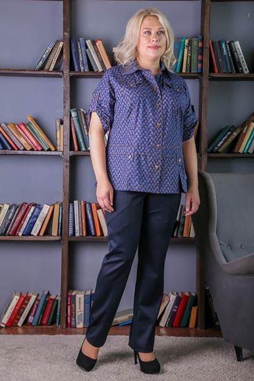 Изображение Блуза Бриана полуночный синий