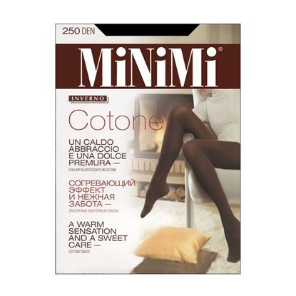 Изображение Колготки MINIMI Cotone 250 - moka