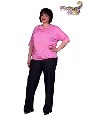 Изображение Блуза качели  светло-розовая