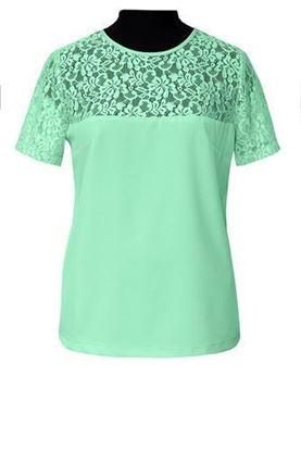 Изображение Блуза 10 зеленый