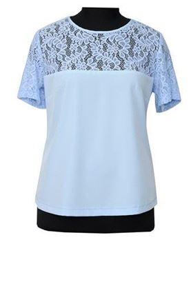 Изображение Блуза 10 голубой