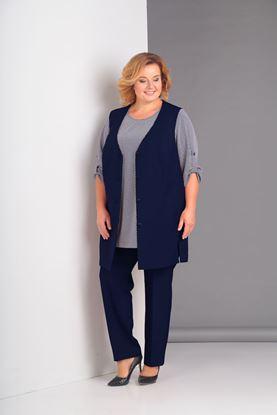 Изображение Комплект 3-х предметный: жилет, брюки и блуза