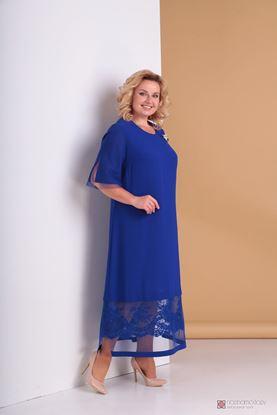 Изображение Платье синий 3301с