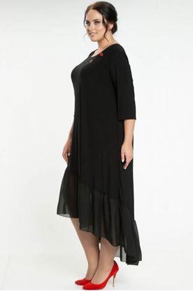Изображение Платье  5072 цвет темно-зеленый