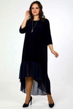 Изображение Платье  5073 цвет темно- синий