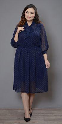 Изображение Платье 799 синий