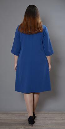 Изображение Платье 694 индиго
