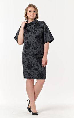 Изображение Комплект жен. 780-733 блуза+юбка