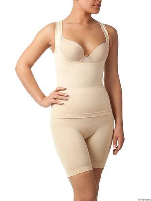 Изображение Комплект майка + шорты с сильным корректирующим эффектом для женщин UINKZ021208