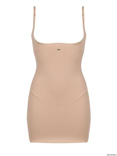 Изображение Нижнее платье с глубоким вырезом под бюст со встроенным боди UINQB 011309