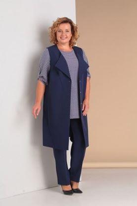 Изображение Комплект брюки, блуза, жилет 2999