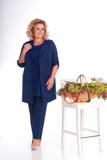 Изображение Комплект жилет, блуза, брюки  3267-с