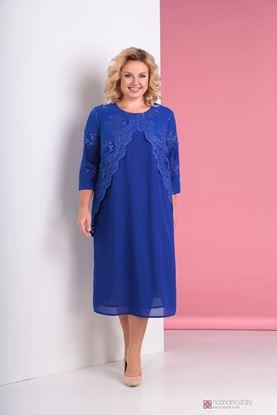 Изображение Платье синий 3298
