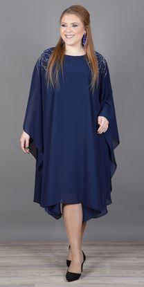 Изображение Платье 363-1 синий