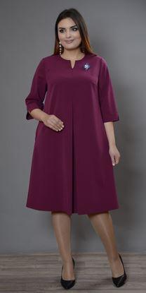 Изображение Платье 694-1 вишня