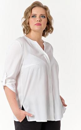 Изображение Блуза женская 721-515 с рисунком на фото