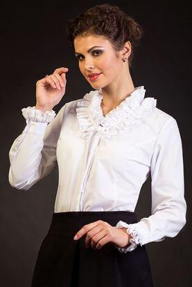 """Изображение Блуза """"Нинель"""" бел"""
