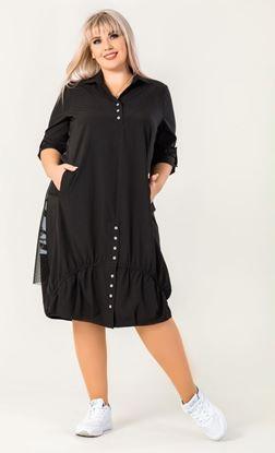Изображение Платье 131874 черный