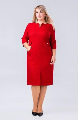 Изображение 18515  Платье красный 141