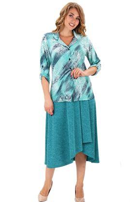 Изображение Блуза 4-002 Номер цвета: 077
