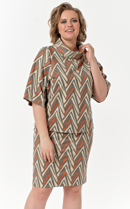 Изображение Комплект 780-743 юбка + блуза