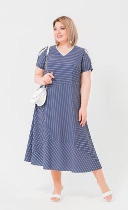 Изображение Платье 172063 синий