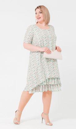 Изображение Платье 18751 мята