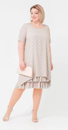 Изображение Платье 18751 серый