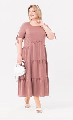 Изображение Платье 18753 розовый