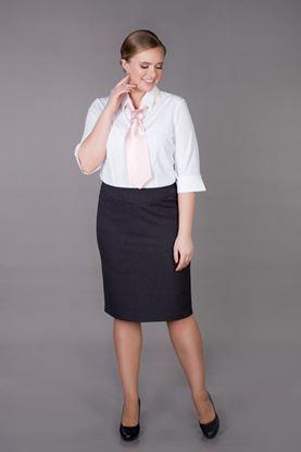 Изображение Блуза белая женская  0076-427