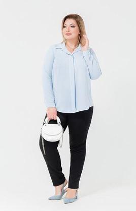 Изображение Блуза 172083 голубая