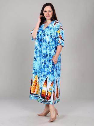Изображение Платье Паруса голубой