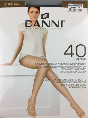 Изображение Колготки женские  Danni Optima 40 черн
