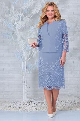 Изображение Комплект 5854 платье+жакет